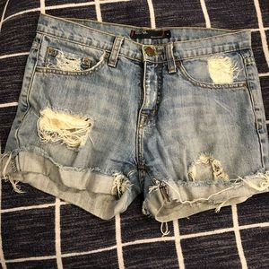 Urban Outfitters Denim Boy Shorts size 4